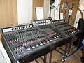 TG12345 Mk.II desk (1970s) and Microphones, Abbey Road Studios.jpg