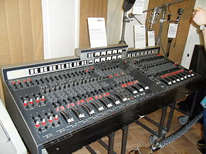 Abbey Road - An EMI TG mixing desk, similar to this one, was used in the production of Abbey Road