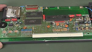 TI-74 - TI-74 BASIC Pocket Computer PCB
