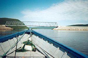 Callender-Hamilton bridge -  Alexis River Bridge, Labrador