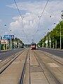 TT Kotlářka - Sídliště Řepy, Poštovka, pohled zc s T6A5.jpg