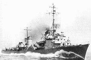 Type commander (Kriegsmarine) - A German torpedo boat in 1945