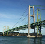 Tacoma Narrows Bridge, Seattle to Portland by train2.jpg