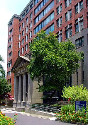 National Taiwan Normal University - The NTNU Language Studies Building houses the Mandarin Training Center