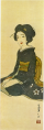 TakehisaYumeji-1914-A Woman in Black Clothes.png