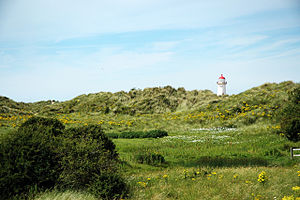 Talacre - A view of Talacre lighthouse