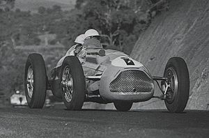 1952 Australian Grand Prix - Doug Whiteford won the race driving a Talbot-Lago T26C