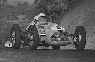 Doug Whiteford - Whiteford won the 1952 Australian Grand Prix driving a Talbot-Lago T26C