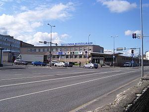 Juhkentali - Image: Tallinna bussijaam