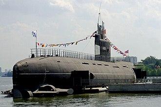 Tango-class submarine - Image: Tango b 396 1