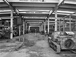 Tank, automobile, Ansaldo-brand, track, camouflage pattern, label, workshop, szervíz, military, Italian brand Fortepan 72517.jpg