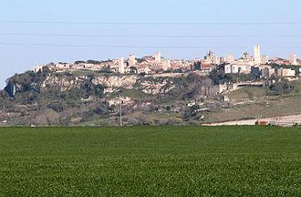 Tarquinia - Skyline of Tarquinia