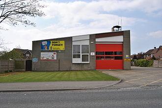 Tarleton - Tarleton Fire Station April 2010