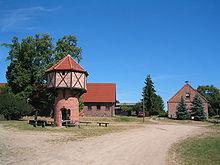 Taubenturm in Glambeck (Quelle: Wikimedia)