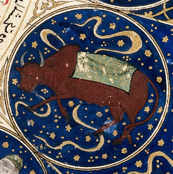 "File:Taurus - Horoscope from 'The book of birth of Iskandar"" Wellcome L0040145.jpg"
