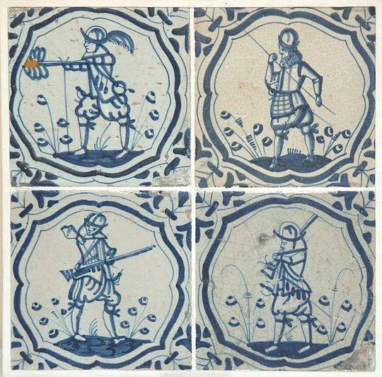 Wandtegels En De Tachtigjarige Oorlog Wikipedia