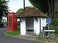 Telephone Box and Bus Shelter - geograph.org.uk - 856753.jpg