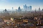 Telephoto view of Moscow Center towards Moscow-City.jpg