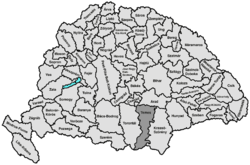 Location of Temes