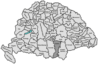 Temes County county of the Kingdom of Hungary