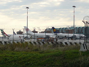Venice Marco Polo Airport - View of the apron