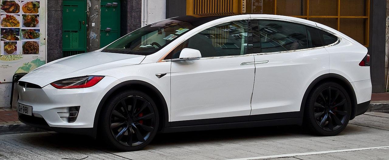 Tesla Model Y Wikipedia: Frontansicht, 2. April 2018