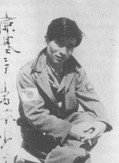 Tetsuzō Iwamoto Japanese World War II flying ace