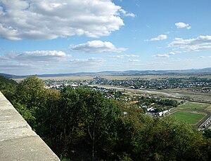 Târgu Neamț - View from Citadel