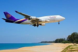 Thai Airways B747-400 HS-TGZ