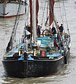 Thames barge parade - about to turn downstream - Victor 6753c.JPG