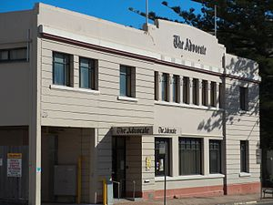 The Advocate (Tasmania) - The Advocate building in Burnie.