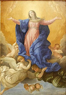 The Assumption of Virgin Mary by Guido Reni (1638-9) - Alte Pinakothek - Munich - Germany 2017.jpg