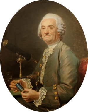 """Pierre Charles Le Monnier - Pierre Charles Le Monnier. """"L'astronome"""" (The Astronomer), circa 1777. Oil on canvas painting by Nicolas-Bernard Lépicié. Calouste Gulbenkian Museum, Lisbon, Portugal."""