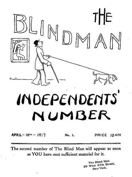 File:The Blind Man, issue 1, April 1917.jpg