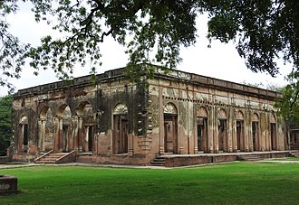 The Residency, Lucknow - The Ruins of the British Residency