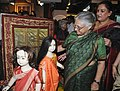 The Chief Minister, Delhi, Smt. Sheila Dikshit going round after inaugurating an Exhibition-Cum-Sale of handpicked woven embroidered sarees, shawls, winter wear garments and ethnic jewellery, in New Delhi. The Secretary.jpg