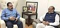The Chief Minister of Manipur, Shri N. Biren Singh, and Dr. Jitendra Singh, in New Delhi on May 19, 2017.jpg