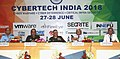 """The Chief of Army Staff, General Bipin Rawat and other dignitaries at the Seminar on Cyber Warfare, Cyber Deterrence and Critical Infrastructure Security """"CYBERTCH INDIA – 2018"""", in New Delhi on June 27, 2018.JPG"""