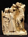 The Crucifixion, about 1290-1320 AD, French, perhaps Paris, ivory - Cleveland Museum of Art - DSC08563.JPG