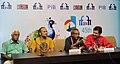 The Director of Malayalam film 'SWAPAANAM', Shaji N. Karun addressing a press conference, at the 45th International Film Festival of India (IFFI-2014), in Panaji, Goa on November 25, 2014.jpg
