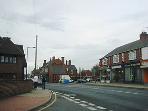 Bentley, South Yorkshire - Image: The Druids Arms on the A19, Bentley geograph.org.uk 287294
