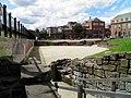 The East entrance of the Roman amphitheatre known as portae posticae, Deva Victrix (Chester, UK) (8391141871).jpg