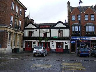 Romford - The market place