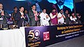 The Minister of State for Social Justice & Empowerment, Shri Ramdas Athawale at the launch of the Golden Jubilee celebrations workshop for CEC members of AISCSTEWA, ONGC, in Visakhapatnam, Andhra Pradesh.jpg
