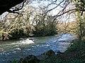 The Ogmore River, Pen-y-cae - Bridgend - geograph.org.uk - 1600333.jpg