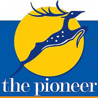 The Pioneer (newspaper) - Image: The Pioneer logo