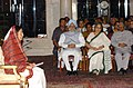 The President, Smt. Pratibha Patil addressing the gathering at the 'At Home' function in honour of Freedom Fighters at Rashtrapati Bhavan in New Delhi on August 9, 2007.jpg