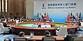 The Prime Minister, Shri Narendra Modi and other BRICS leaders, at the Plenary Session of the 9th BRICS Summit, in Xiamen, China on September 04, 2017 (2).jpg