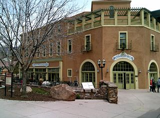 Manitou Bathhouse United States historic place