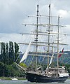 The Tenacious on the last day of the Rouen Armada 2019, on the River Seine from Rouen to Le Havre ... (48090661286).jpg